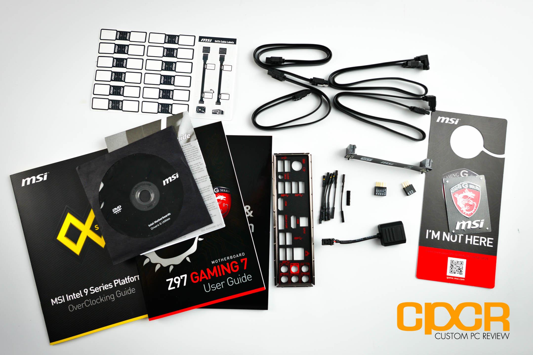 Review: MSI Z97 Gaming 7 LGA 1150 Motherboard | Custom PC Review