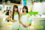 computex 2014 mega booth babes gallery custom pc review 98