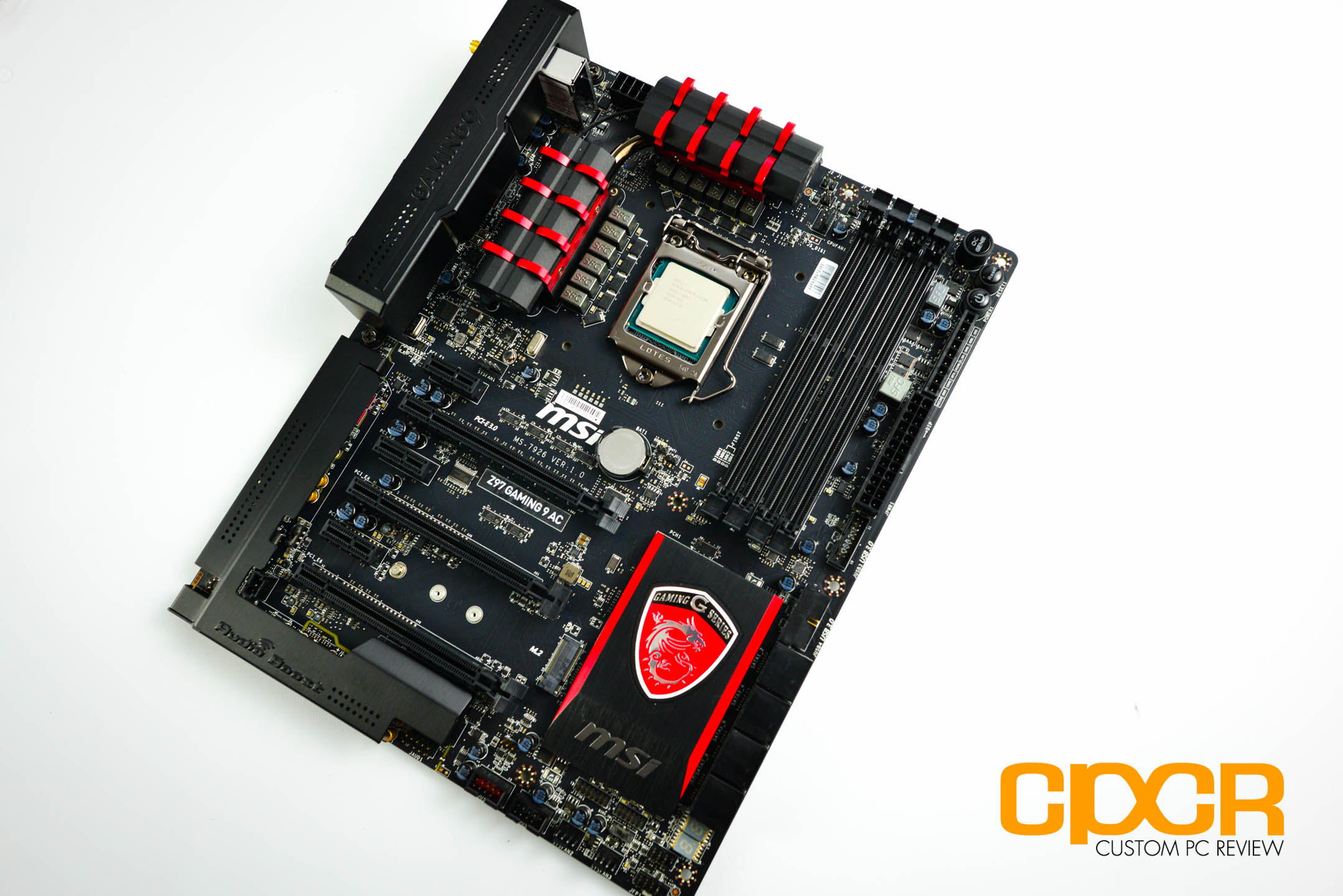 MSI Z97A Gaming 9 ACK C-Media Audio Linux