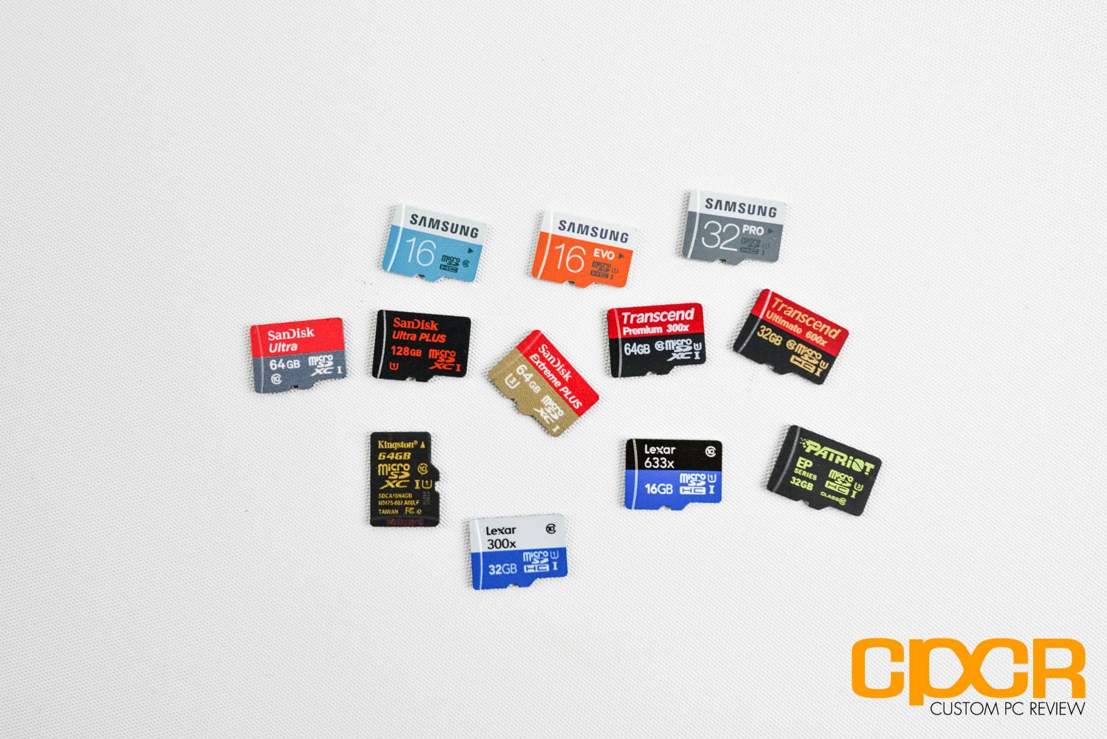 Micro Sd Karte 64gb Test.Best Microsd Card Review 12 Microsd Card Comparison Custom Pc Review