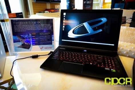ces 2015: cyberpowerpc fangbook edge 3k, fangbook iii