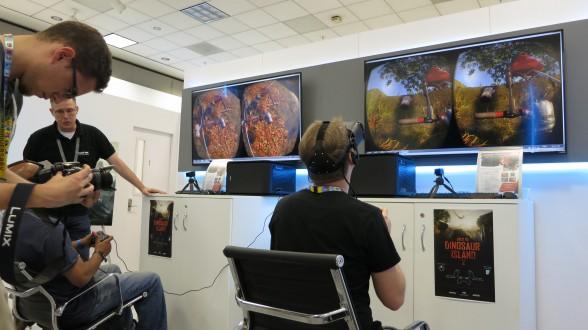 Oculus Rift Crytek Dinosaur Island Demo