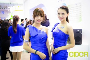 computex 2015 ultimate booth babe gallery custom pc review 2