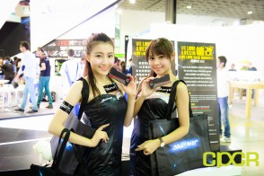 computex 2015 ultimate booth babe gallery custom pc review 46