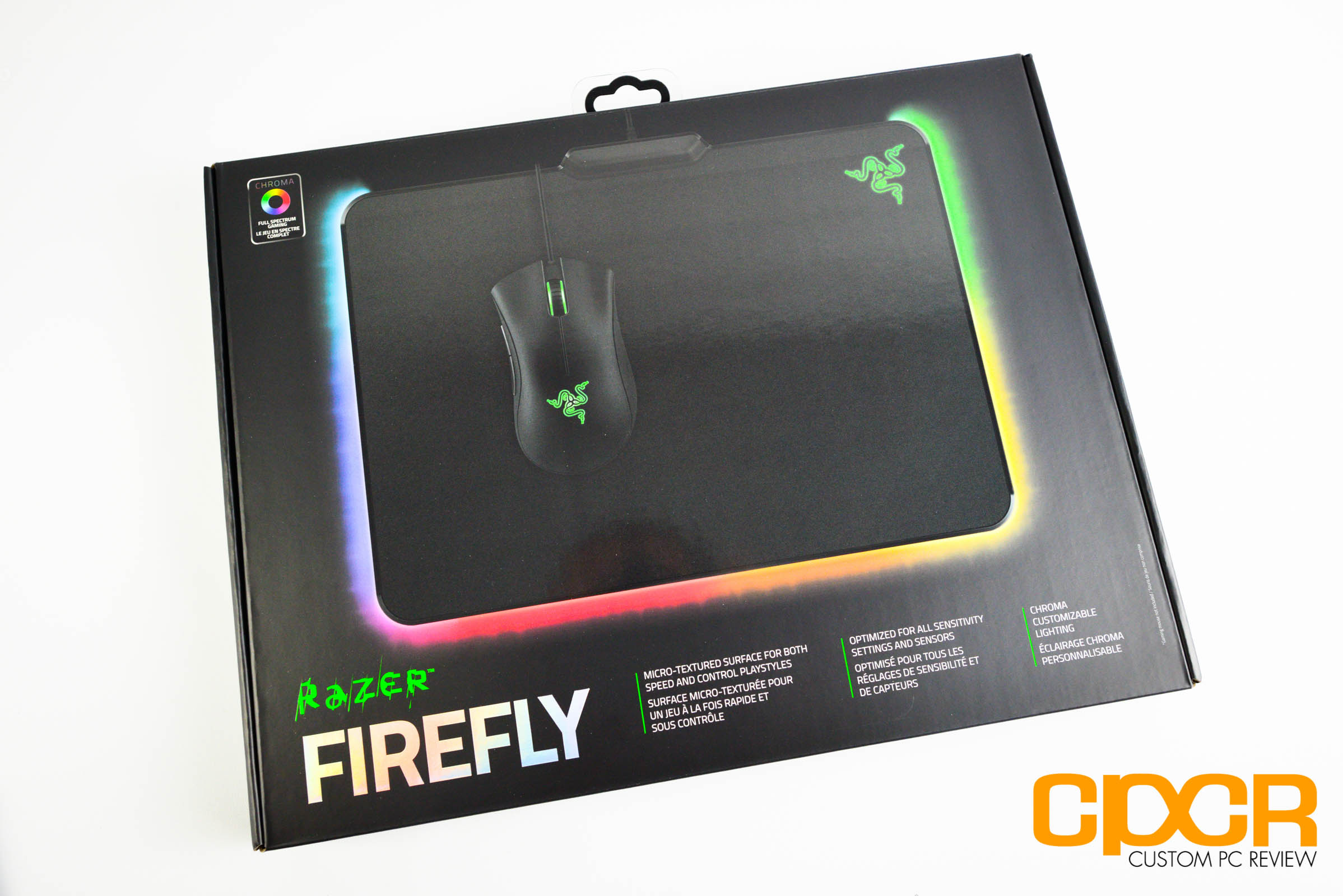Review Razer Firefly Rgb Backlit Hard Gaming Mousepad