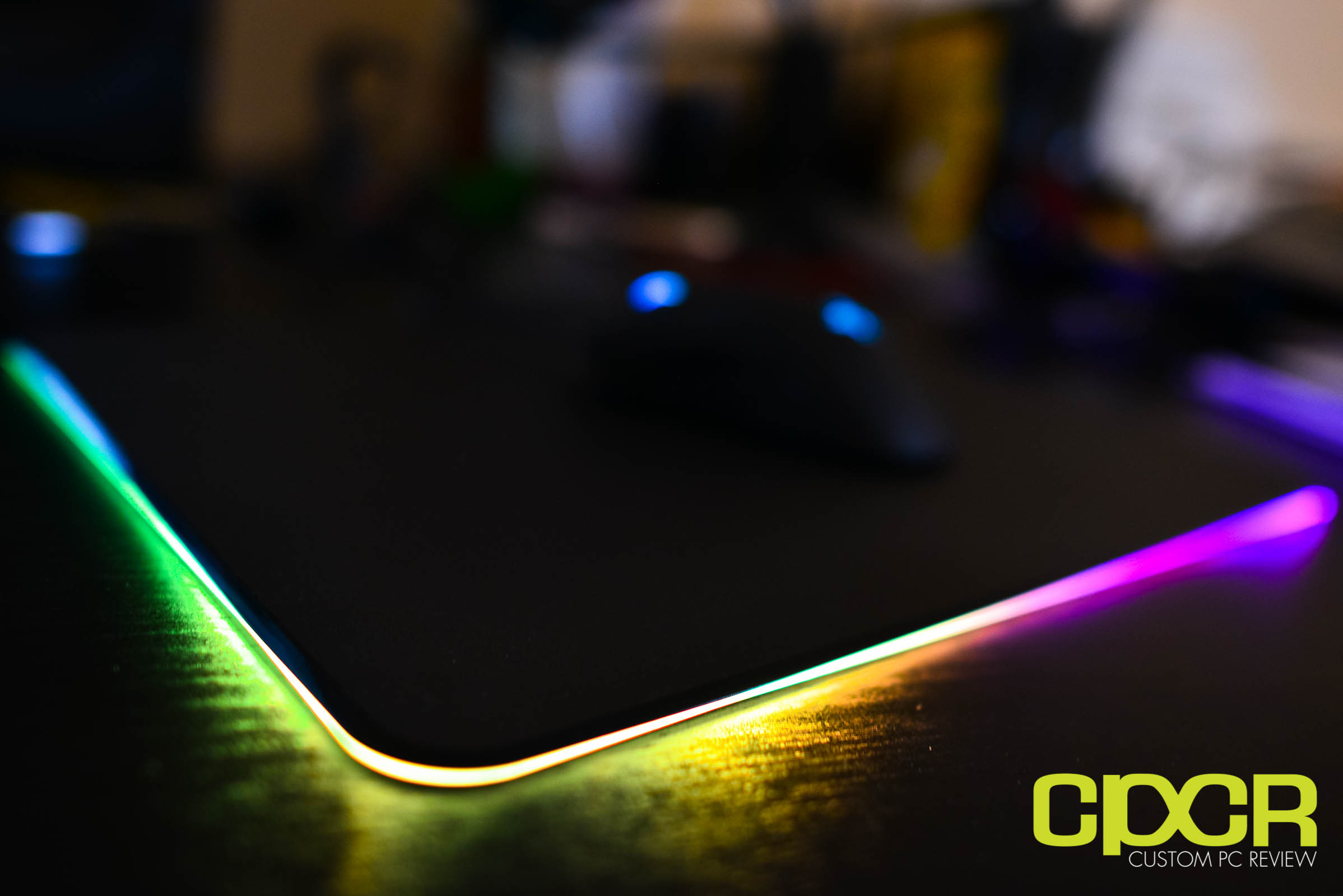 : Razer Firefly RGB Backlit Hard Gaming Mousepad | Custom PC Review