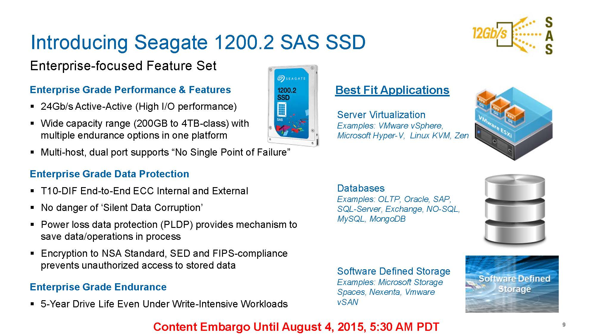 Seagate Micron Jointly Launch S1200 2 S600dc Series Sas