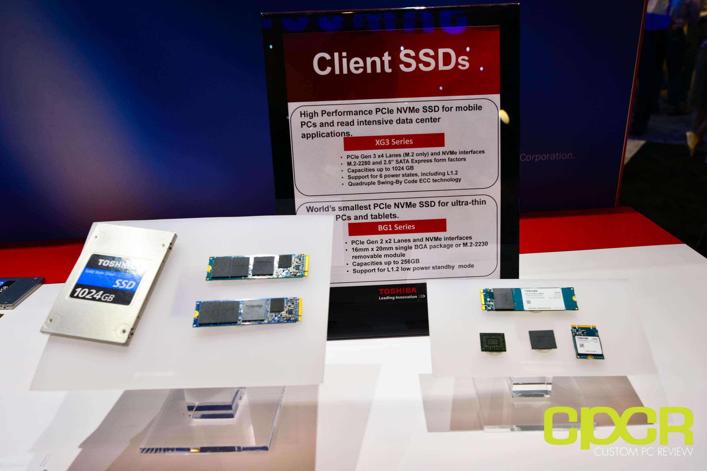 Fms 2015 Toshiba Announces Xg3 Bg1 Px04p Nvme Ssds