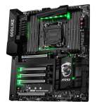 X99A GODLIKE GAMING CARBON EDITION Green LED