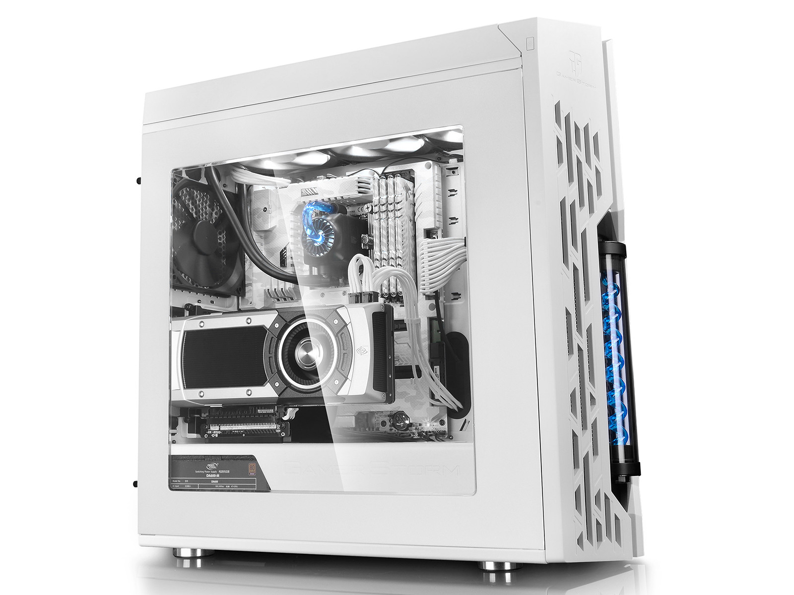 Deepcool Launches Gamer Storm Genome Pc Chassis With