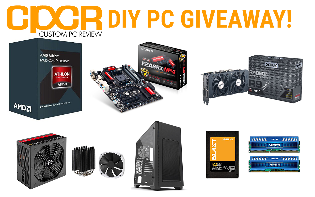 pc games giveaway diy custom gaming pc giveaway with amd xfx patriot 7821