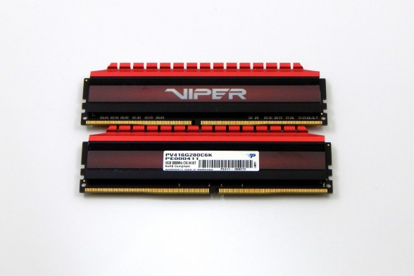 Patriot Viper 4 DDR4 2800MHz Review Front-Back1