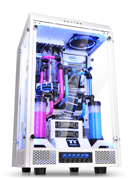The Tower Design Collaboration by Thermaltake and WaterMod France