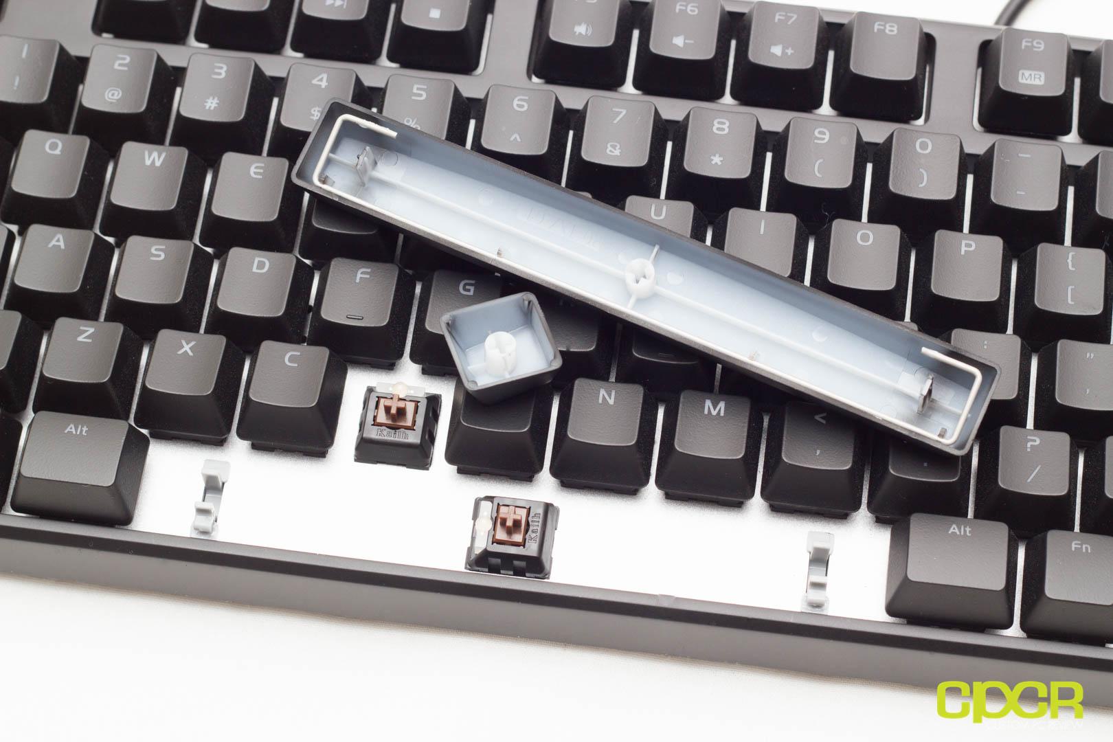 Review Thermaltake Tt Esports Poseidon Z Rgb Mechanical Gaming Keyboard Custom Pc Review