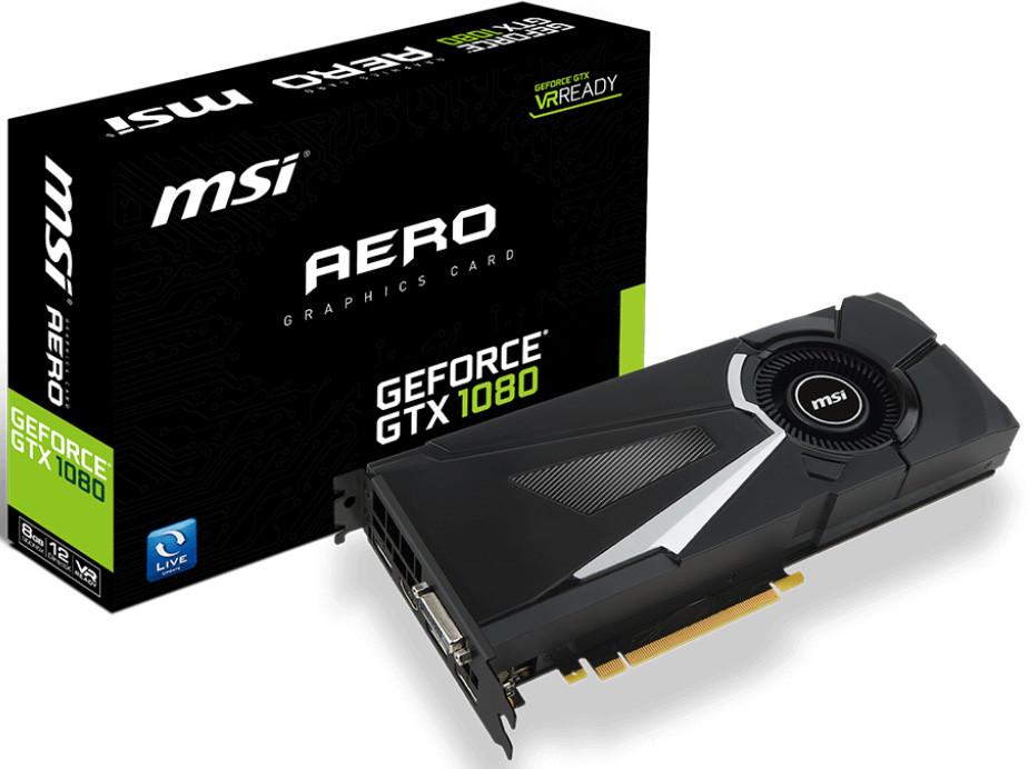 MSI Unveils Complete Lineup Of GeForce GTX 1080 Graphics
