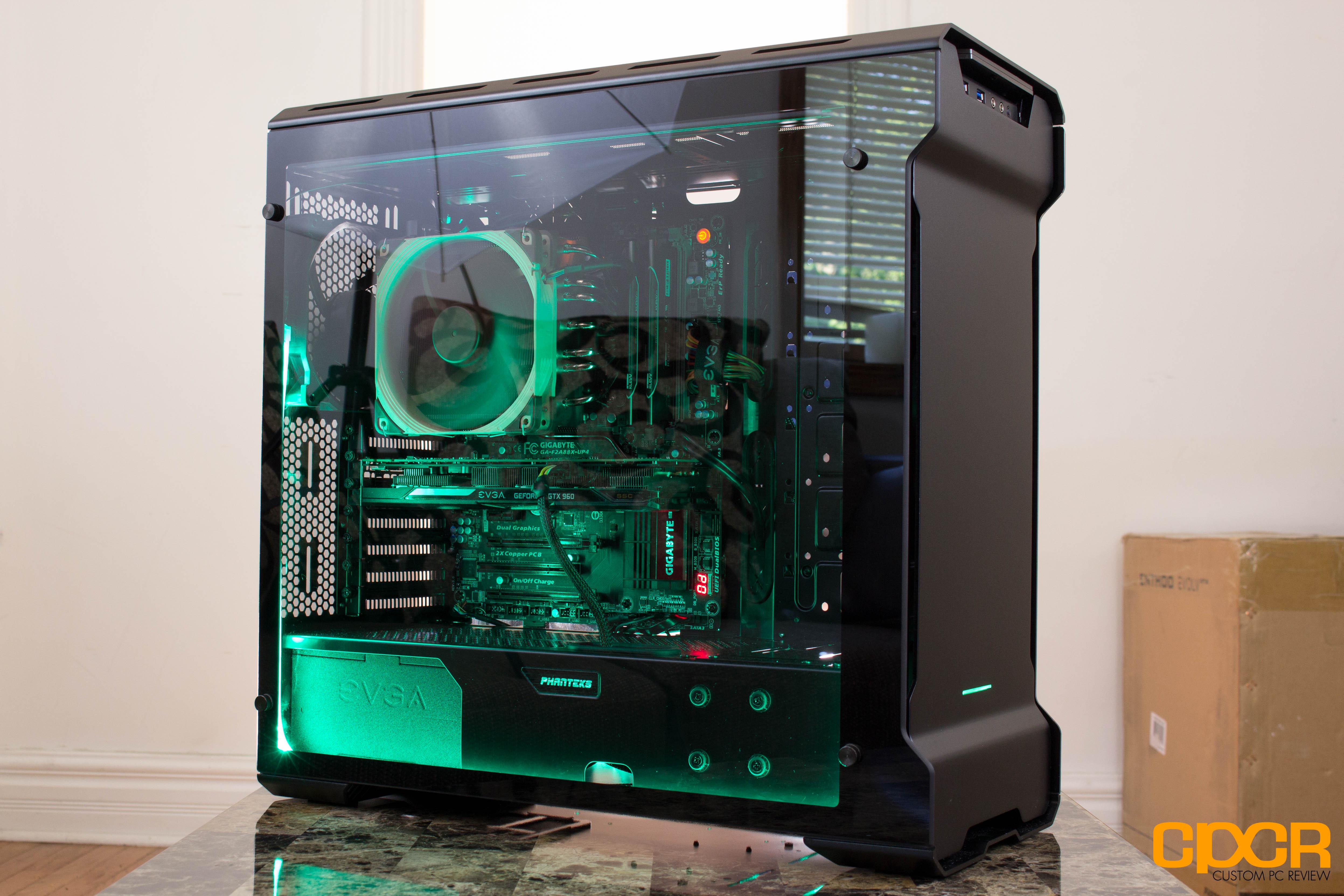 Phanteks Enthoo Evolv Review Tempered Glass Atx Case