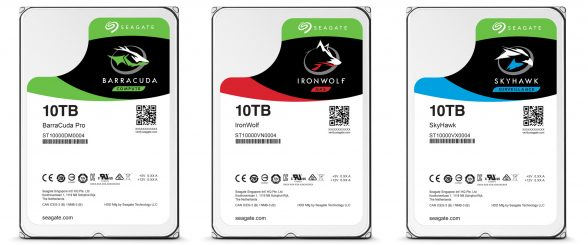 HD Seagate 10TB Guardian Series hard disk drive-Especificações
