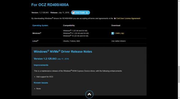 ocz-rd400-driver-webpage