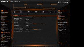 Gigabyte X99P SLI Bios Freqency Tab