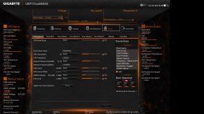 Gigabyte X99P SLI Bios Home Presets