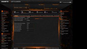 Gigabyte X99P SLI Bios Memory Tab