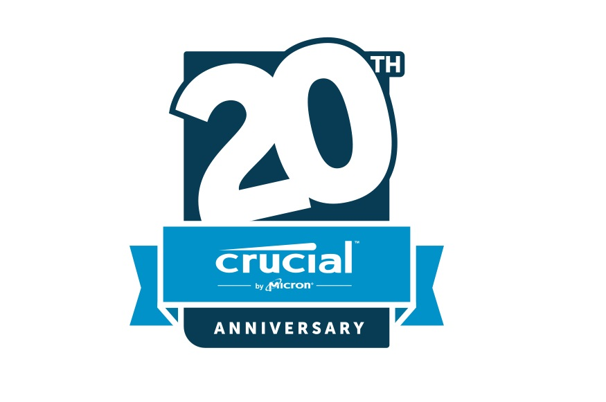 Crucial mx300 ssd giveaway celebrating crucial 39 s 20 year for What do you give for a 20 year anniversary