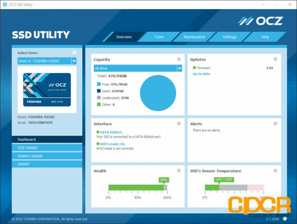 ocz-ssd-utility-toshiba-vx500-512gb-ssd-custom-pc-review