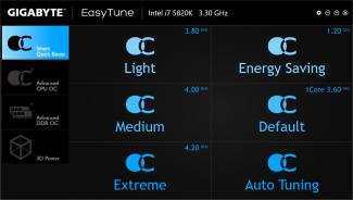 Gigabyte Easy Tune X99P SLI