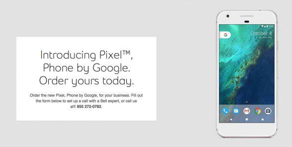 google-pixel-leak-canadian-carrier-bell