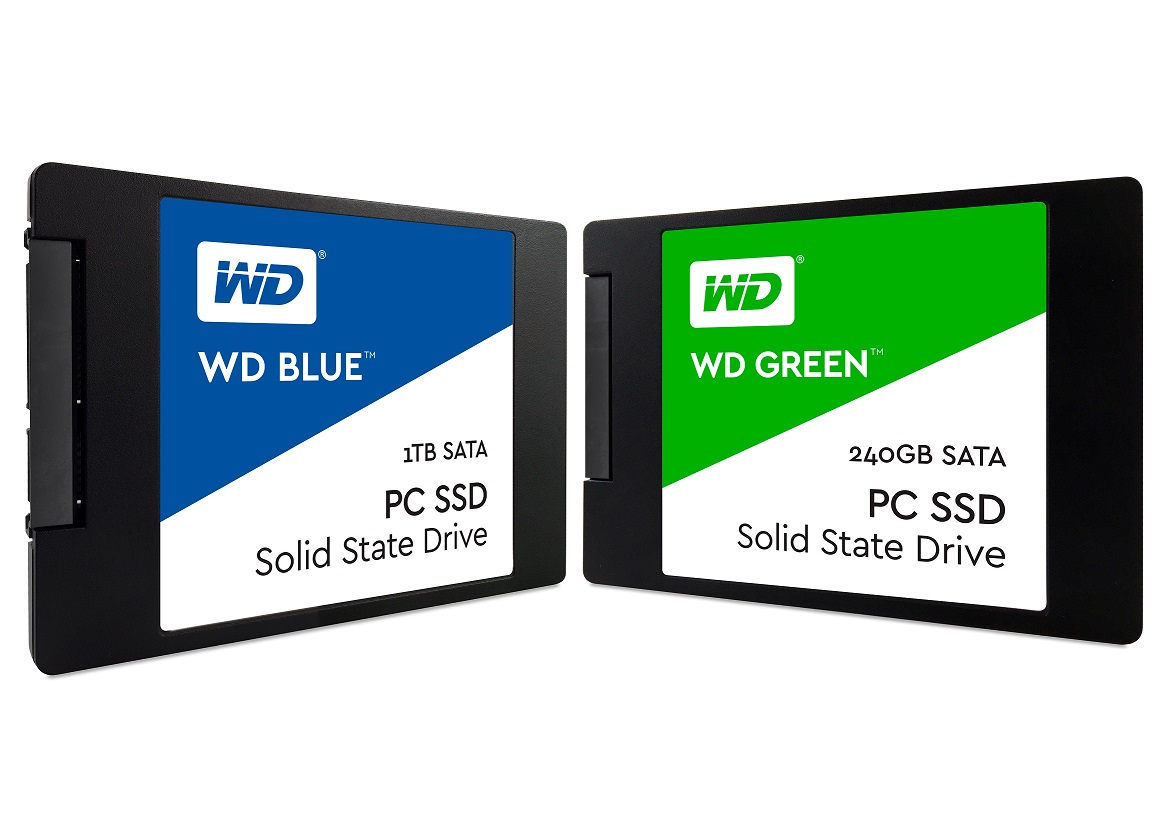 Wd Announces Wd Blue Wd Green Ssds Returns To Consumer