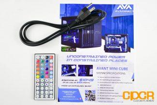 avadirect avant mini cube gaming desktop pc custom pc review 1