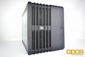 avadirect avant mini cube gaming desktop pc custom pc review 5