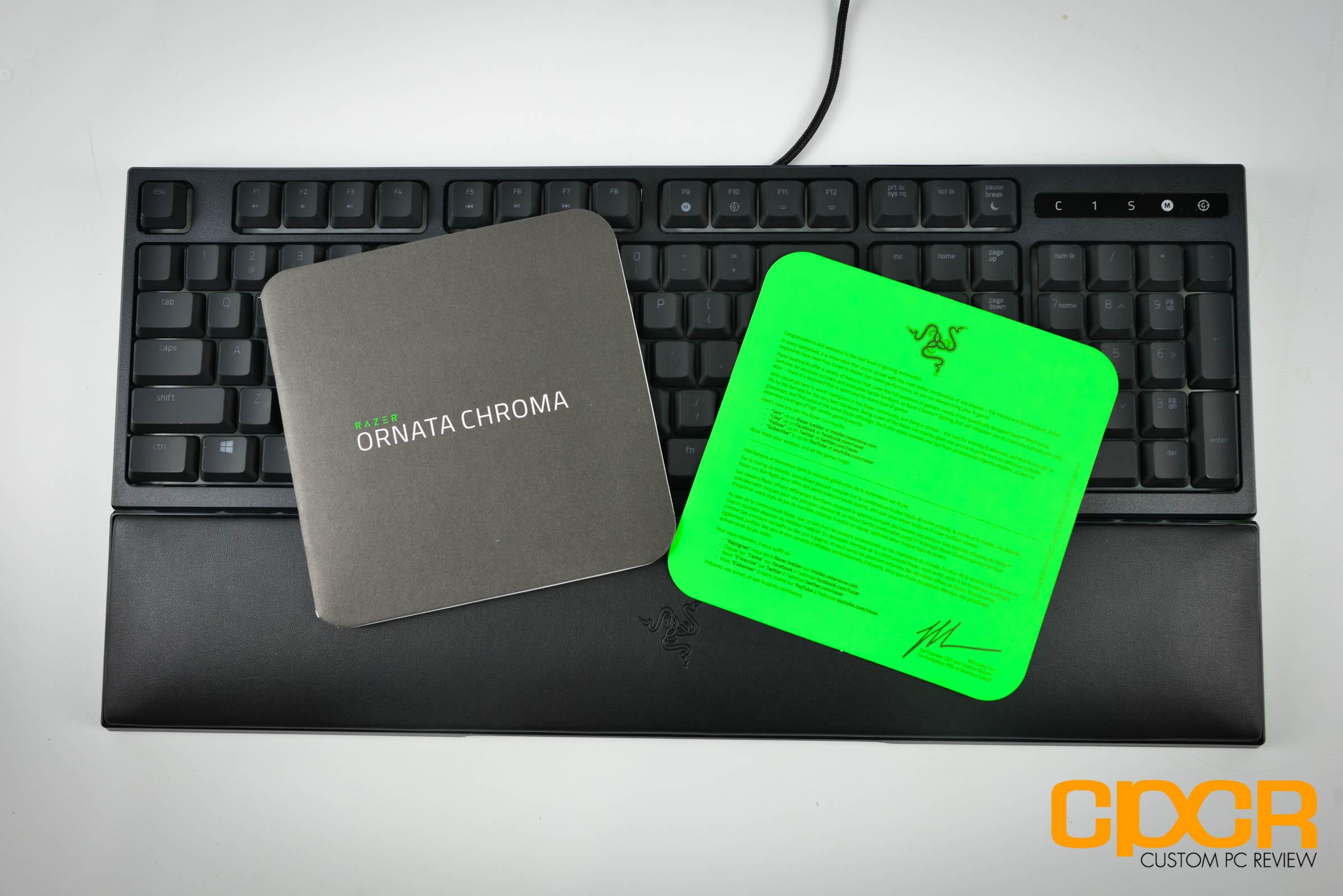 razer chroma ornata how to clean keyboard