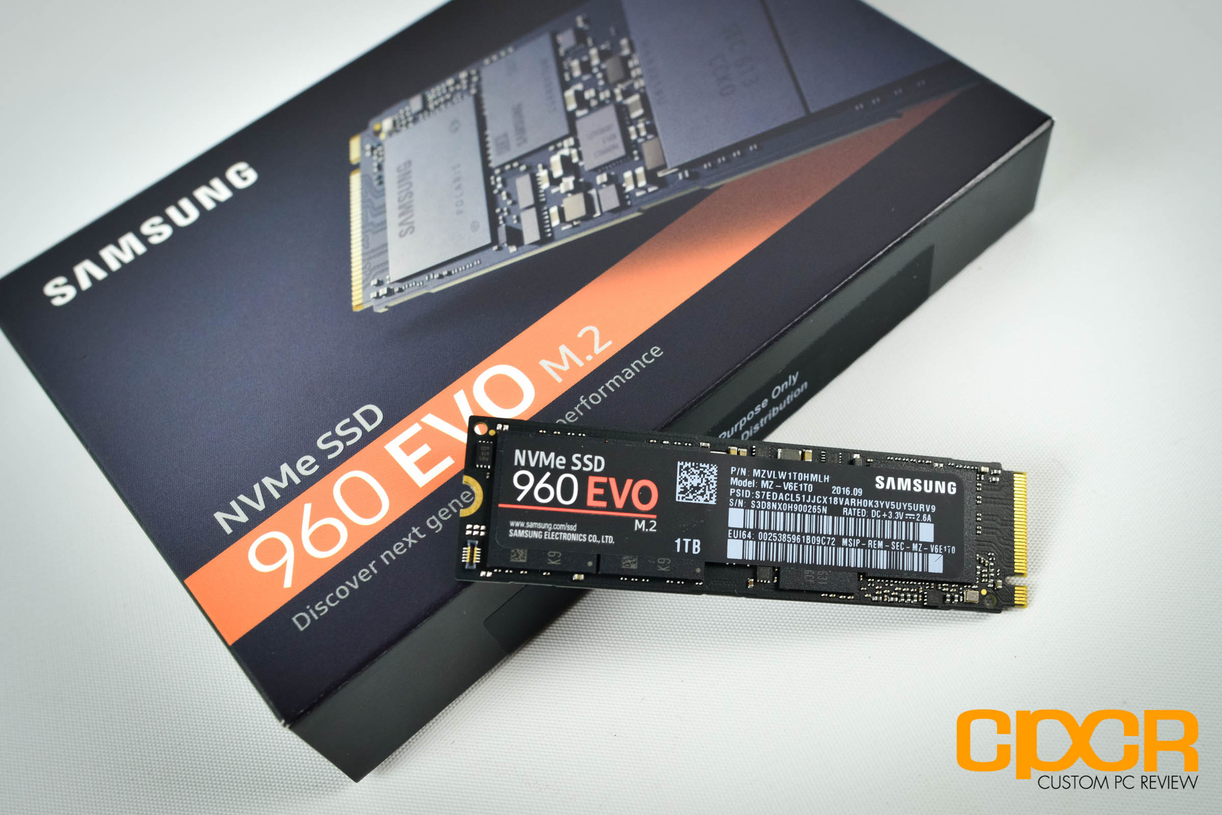 Samsung 960 Evo 1tb Review Nvme Pcie Ssd Custom Pc Review