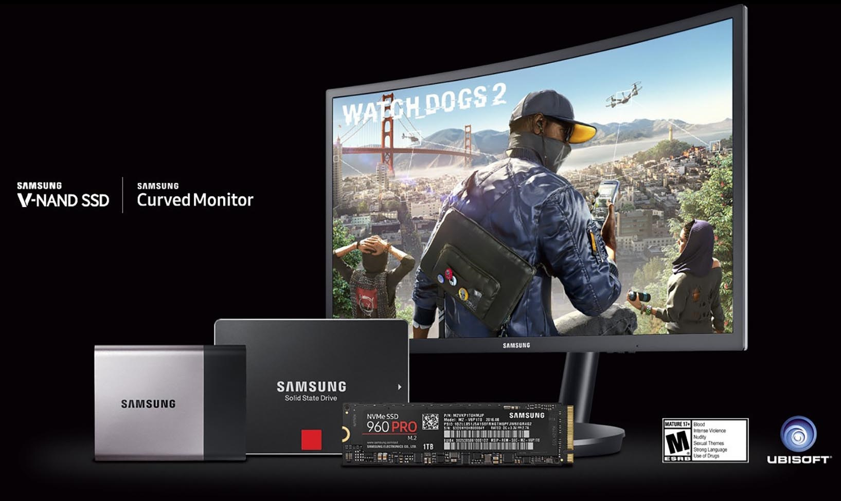 Samsung appeals to gamers with 'Watch Dogs 2' tie
