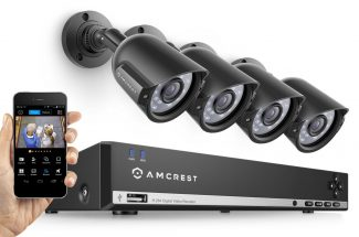 amcrest 960h video security system dvr four cameras product image