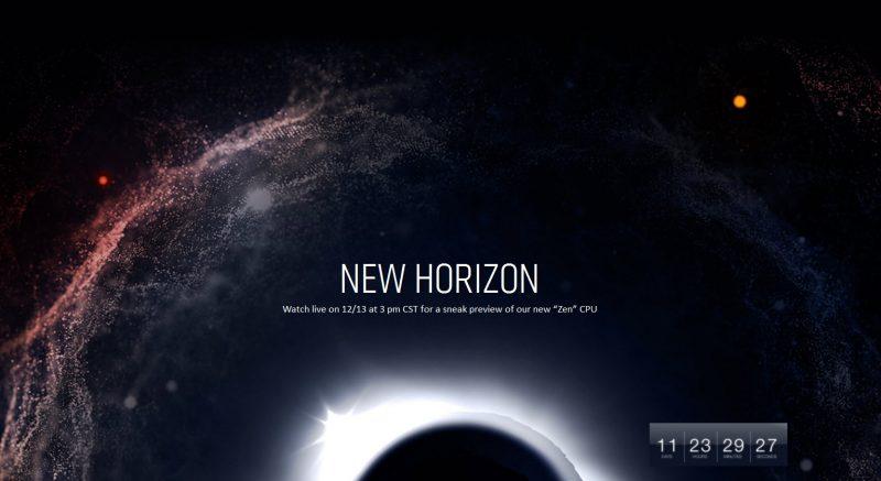 amd-new-horizon-zen-event-screen