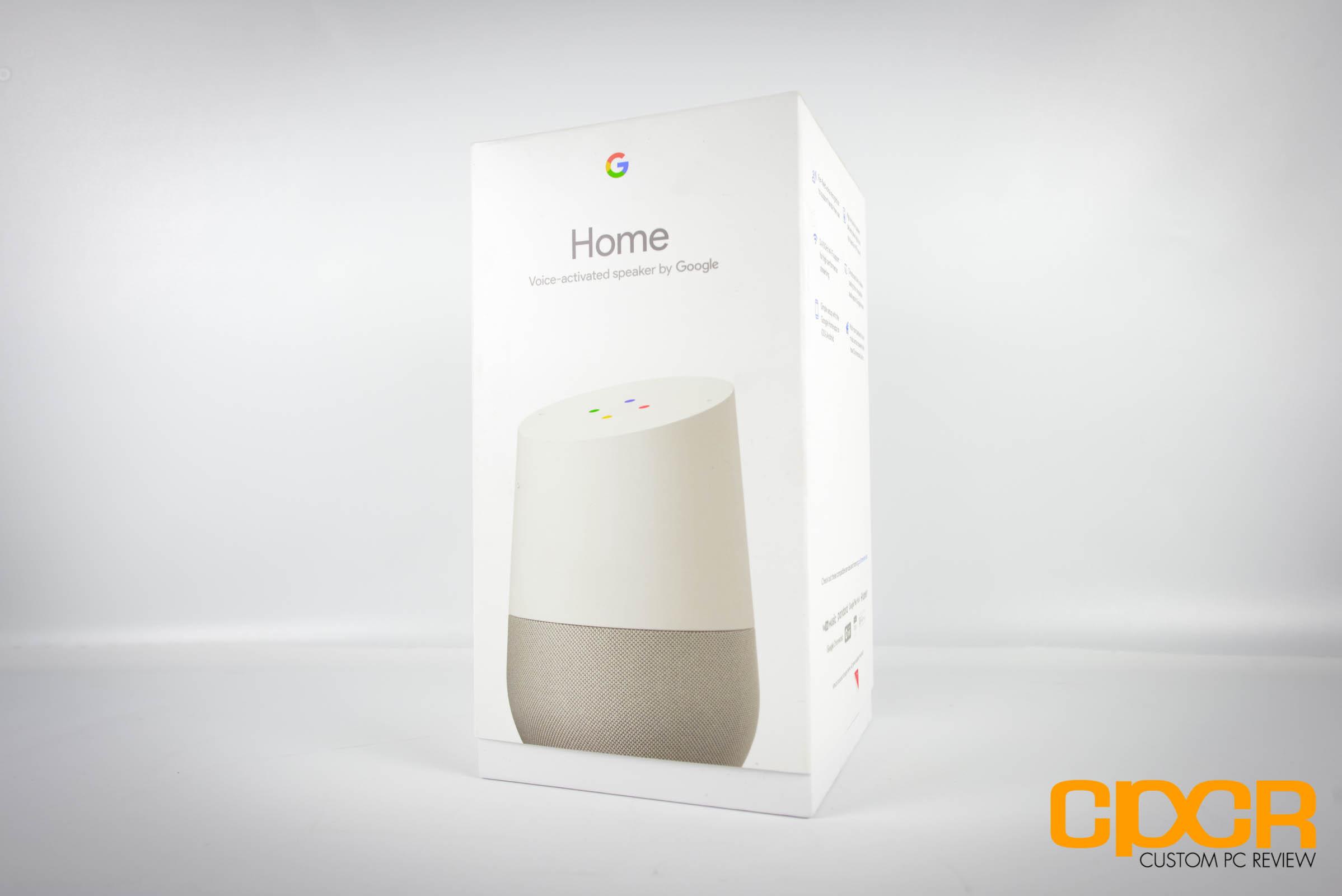 review google home smart speaker a good start custom pc review. Black Bedroom Furniture Sets. Home Design Ideas