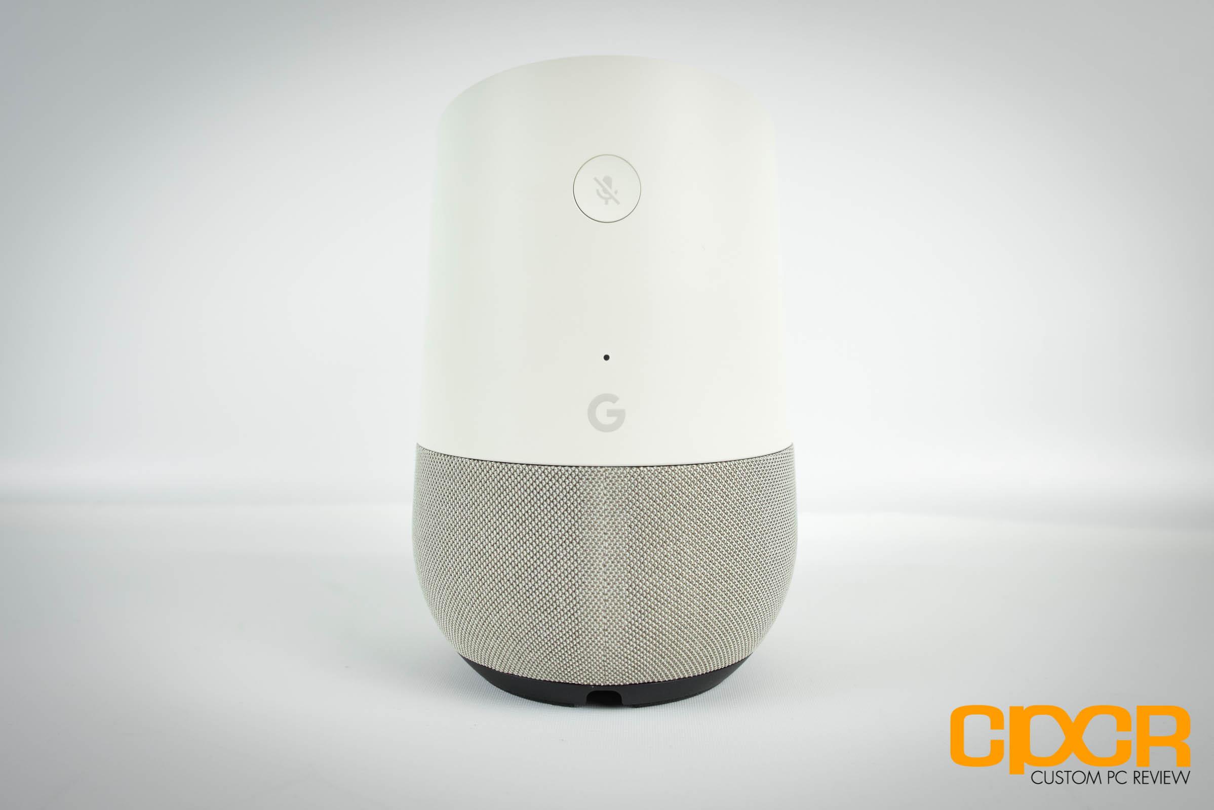 Review: Google Home Smart Speaker - A Good Start | Custom PC Review