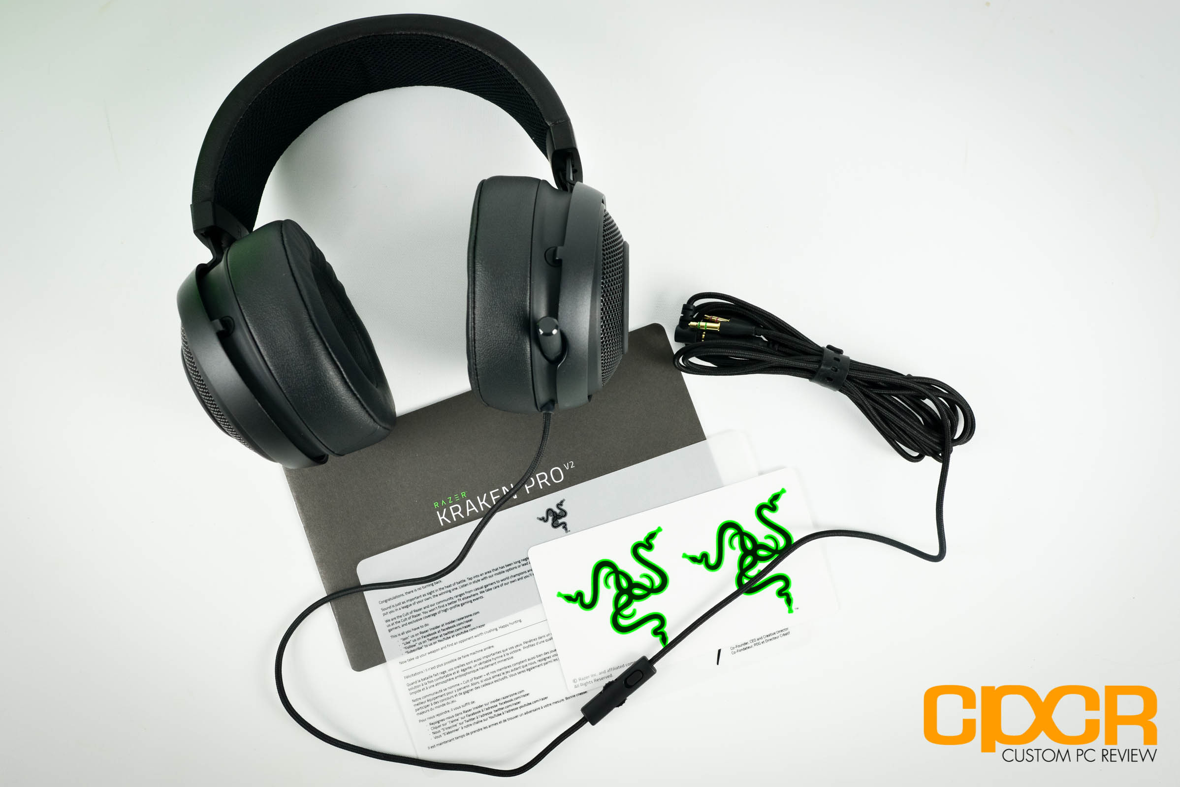 Razer Kraken Pro V2 Review Gaming Headset Custom Pc Review