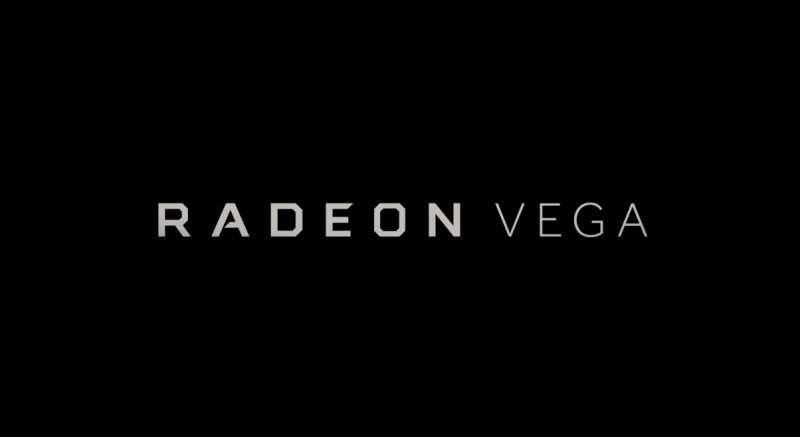 amd radeon vega logo video
