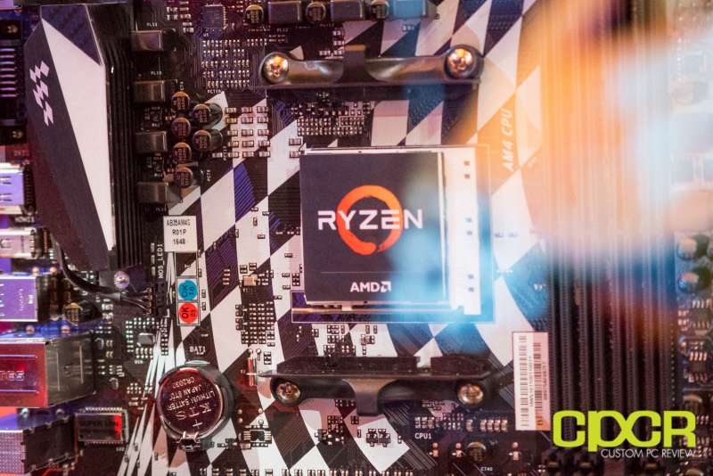 amd ryzen ces 2017 press event custom pc review 1