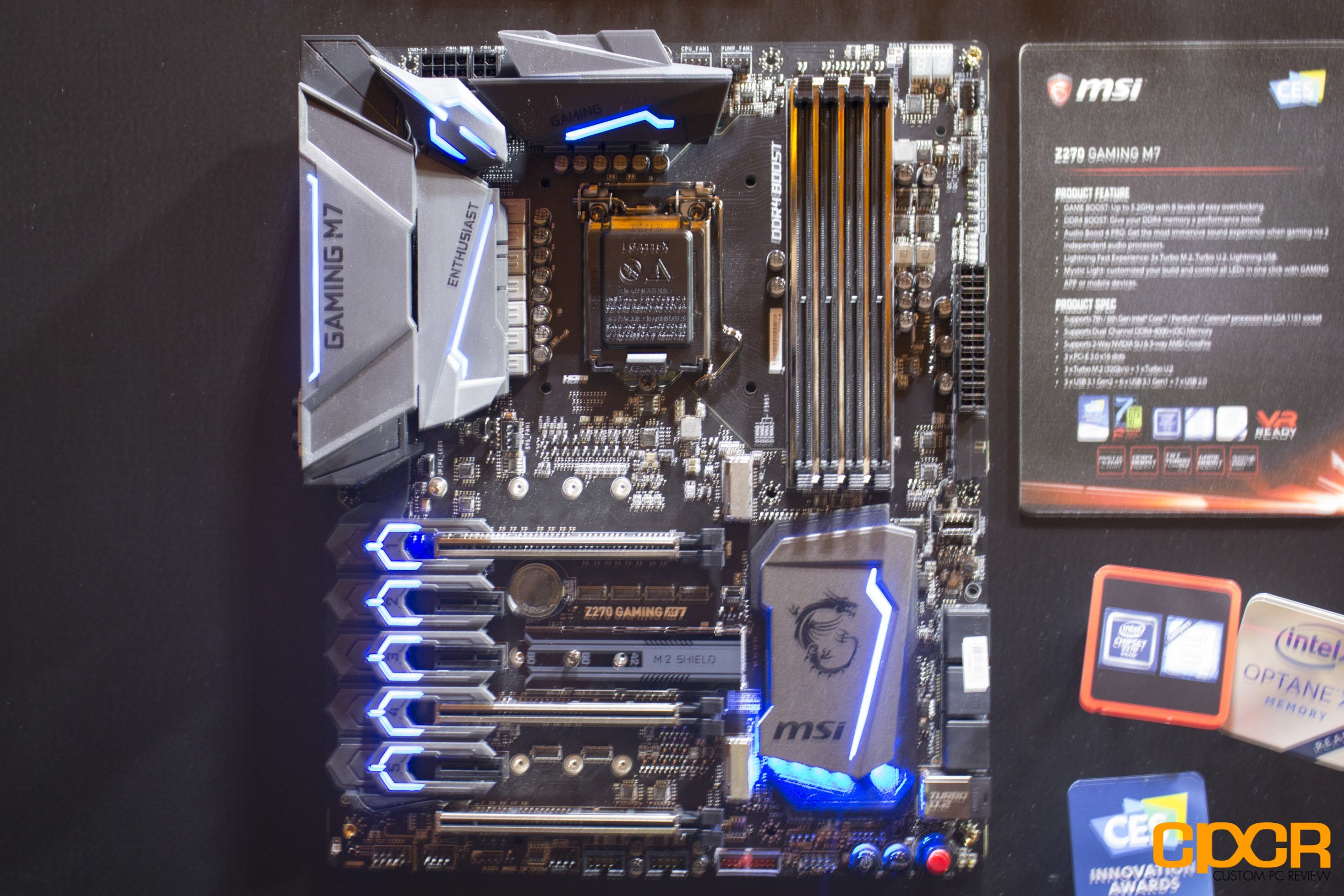 CES 2017: MSI Shows Off New Z270 Motherboards, X370 Ryzen