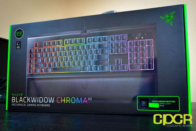 razer blackwidow chroma v2 mechanical gaming keyboard custom pc review 1