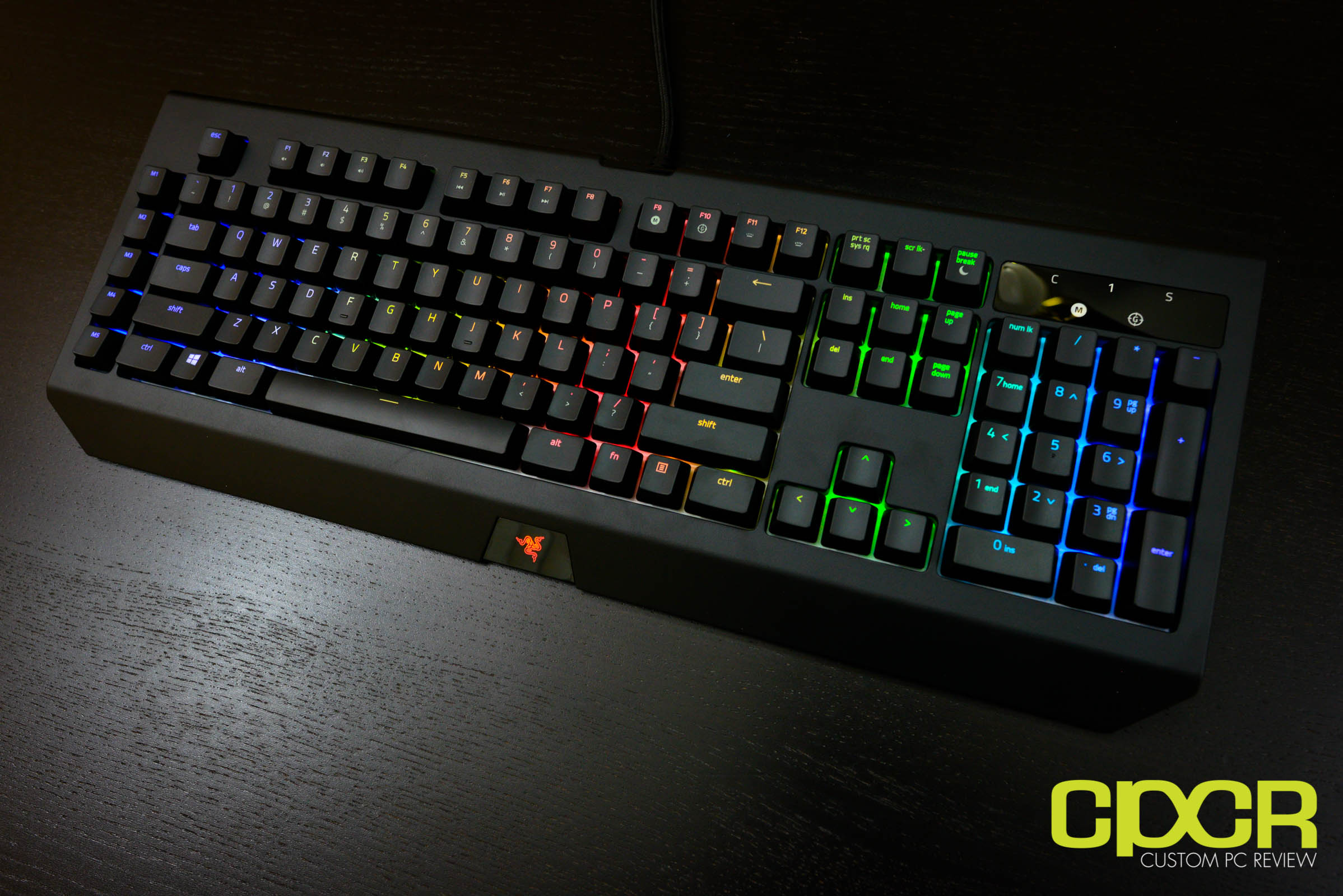 0b9d9799d77 Plugging in the Razer BlackWidow Chroma V2, we can take a look at the Chroma  backlighting functionality. As expected of a Chroma keyboard, ...