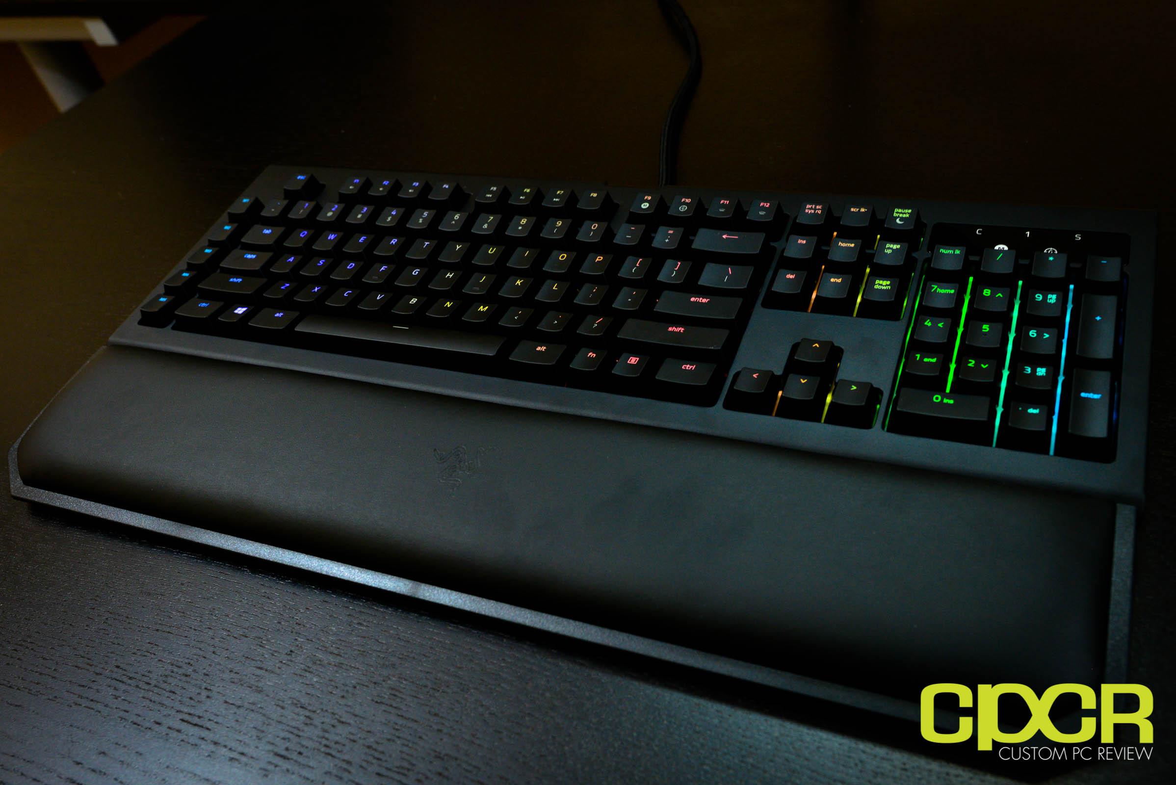 Razer BlackWidow Chroma V2 Review   Mechanical Gaming Keyboard
