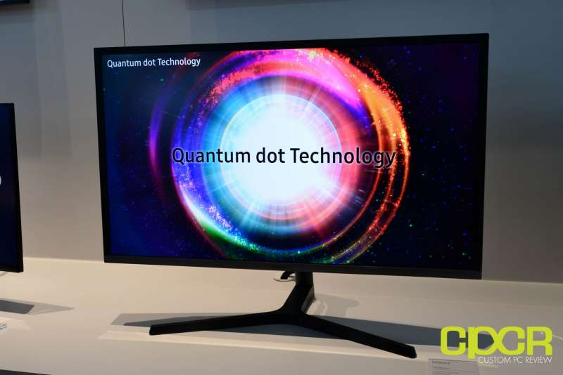 samsung quantum dot monitors ces 2017 custom pc review 10
