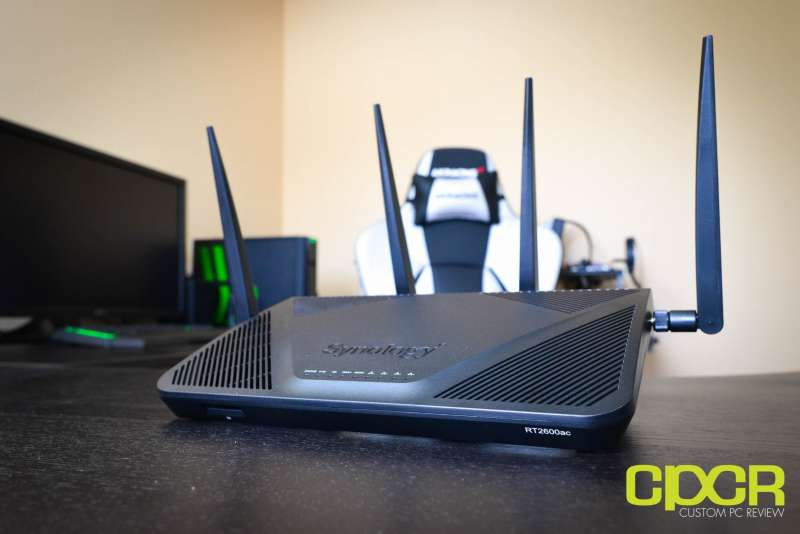 synology router rt2600ac custom pc review 3