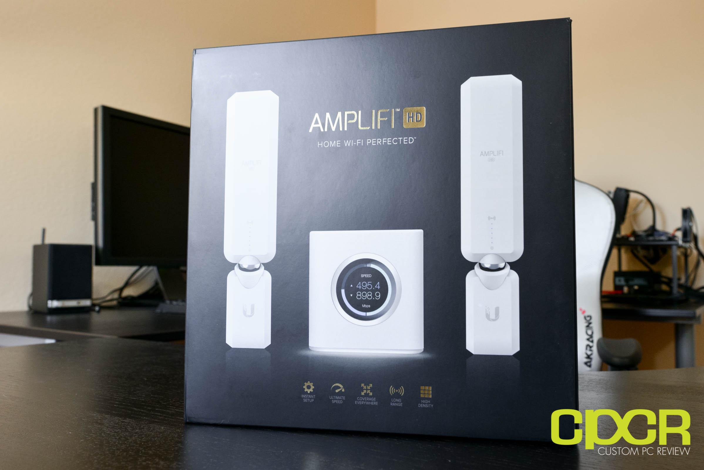Ubiquiti Amplifi Hd Review Mesh Wifi Router System