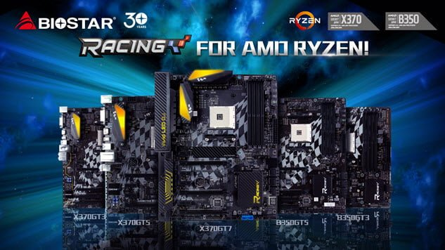 biostar amd racing motherboard lineup